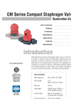 CM Valves SUBMITTAL Data Sheet